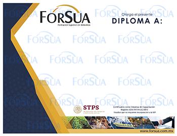 Diploma de FORSUA