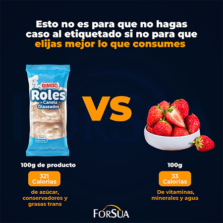 Elije mejor lo que consumes