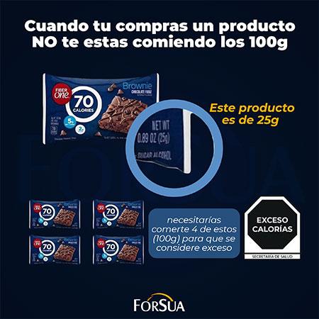 Producto con exceso de calorías